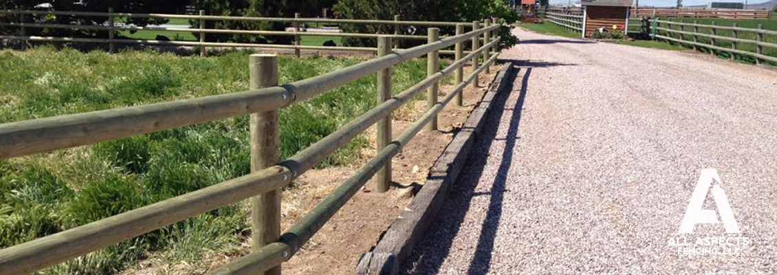 view of all aspects fencing rail fence
