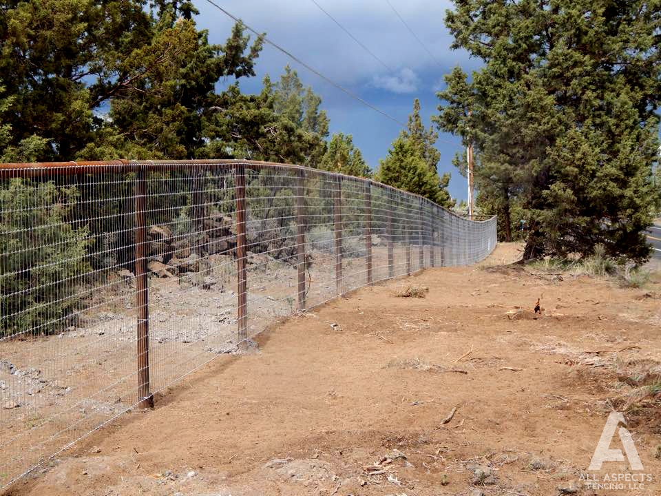 No Climb Fence Installation And Repair In Central Oregon
