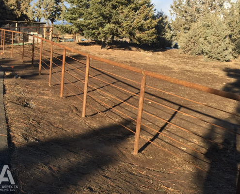 pipe fencing corral