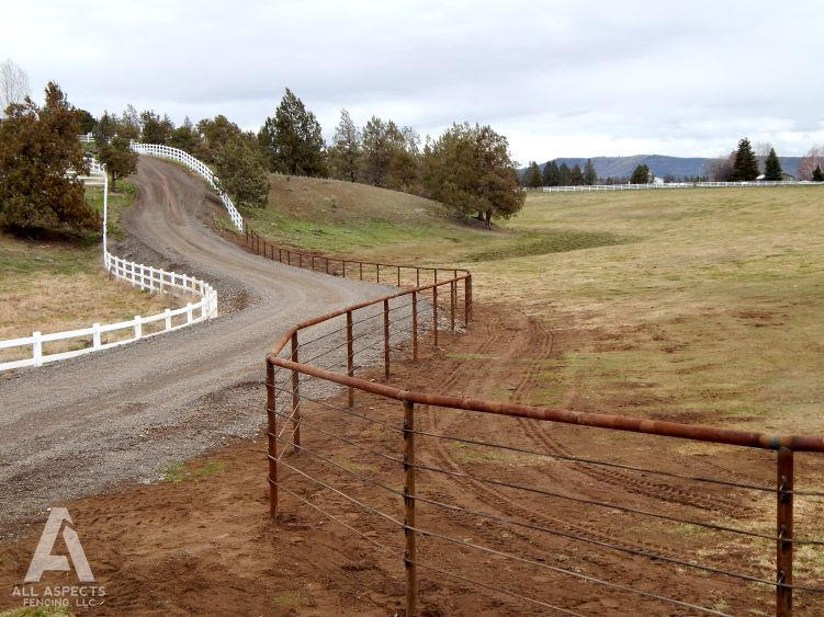 Pipe Fence Installation And Repair In Central Oregon All