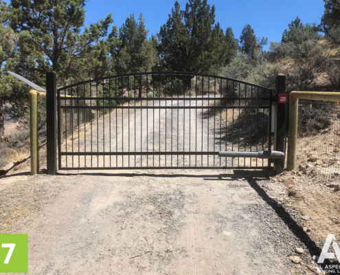Powered Entry Gate